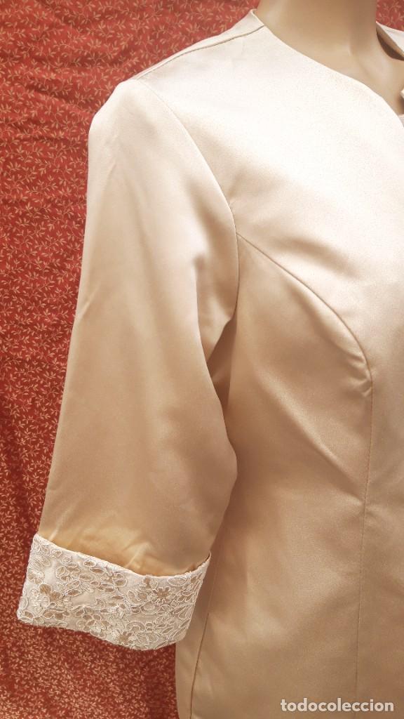 Segunda Mano: Abrigo y vestido de fiesta o ceremonia, de taller de costura. - Foto 2 - 287721058