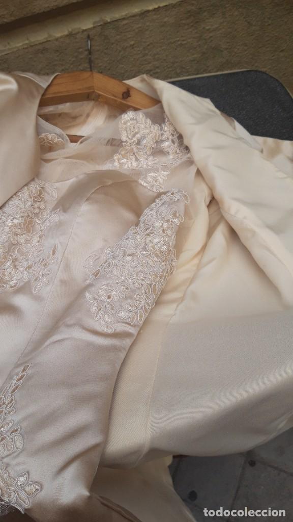 Segunda Mano: Abrigo y vestido de fiesta o ceremonia, de taller de costura. - Foto 3 - 287721058