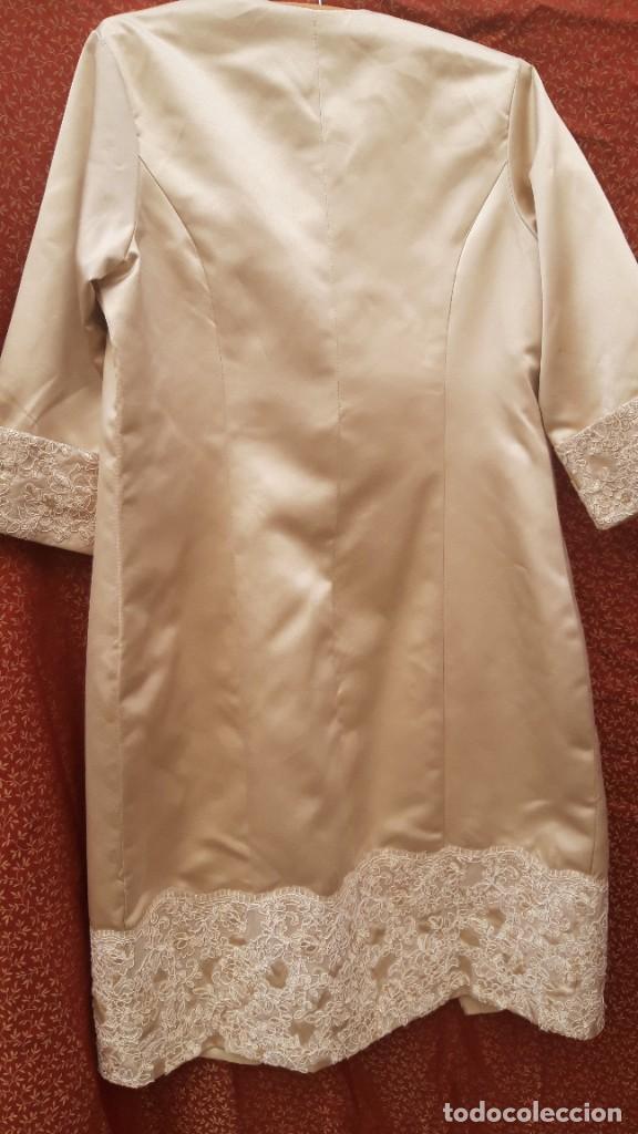 Segunda Mano: Abrigo y vestido de fiesta o ceremonia, de taller de costura. - Foto 4 - 287721058
