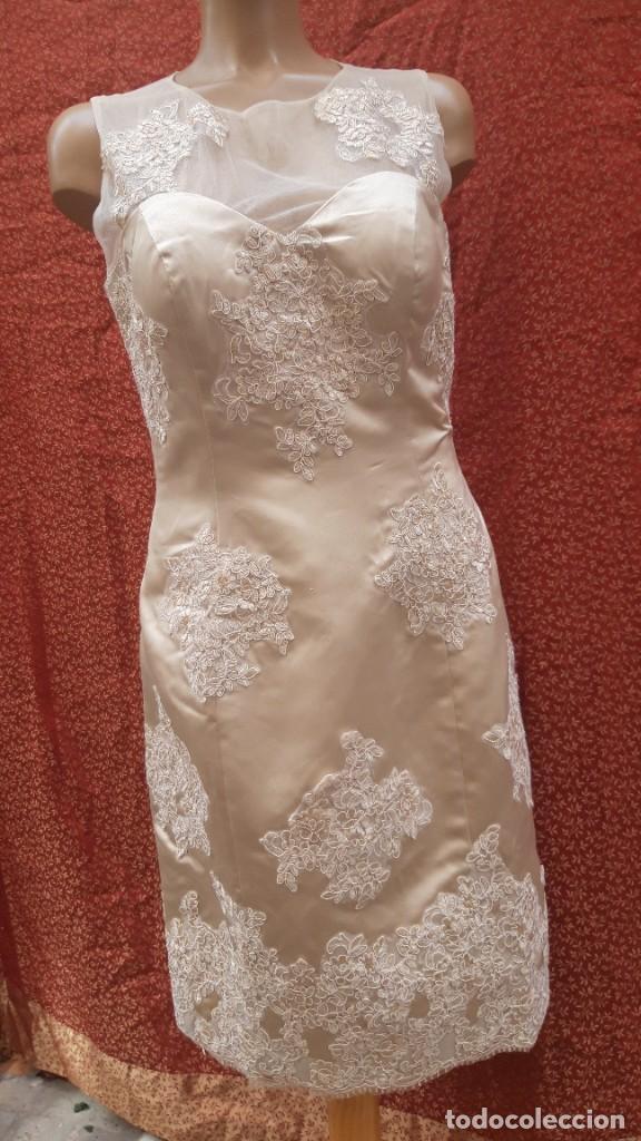 Segunda Mano: Abrigo y vestido de fiesta o ceremonia, de taller de costura. - Foto 6 - 287721058