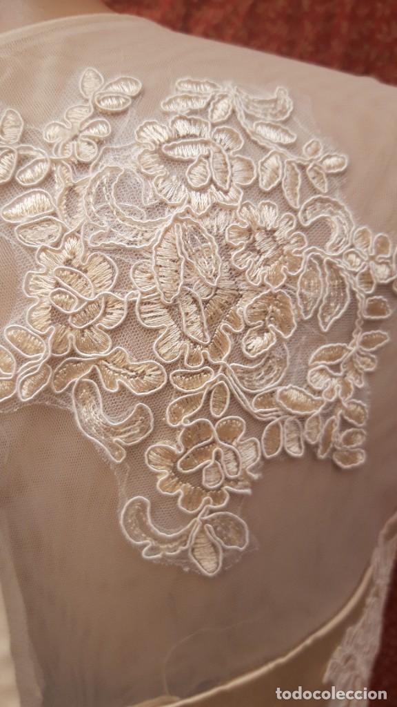 Segunda Mano: Abrigo y vestido de fiesta o ceremonia, de taller de costura. - Foto 7 - 287721058