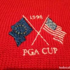 Segunda Mão: JERSEY GOLF PGA CUP 1998(PLAYER ISSUE) VINTAGE. Lote 294047043