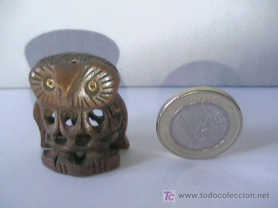 BUHO DE MADERA (Segunda Mano - Hogar y decoración)