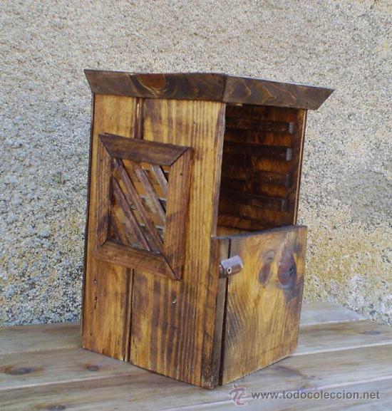 Confesionario madera comprar art culos de segunda mano for Decoracion hogar segunda mano