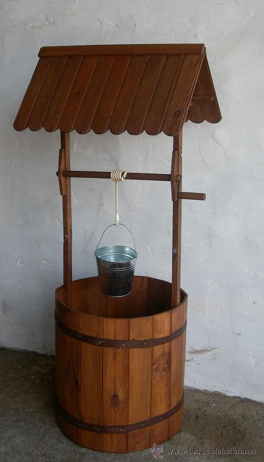 Pozo de madera jardin jard365 comprar en todocoleccion for Segunda mano jardin