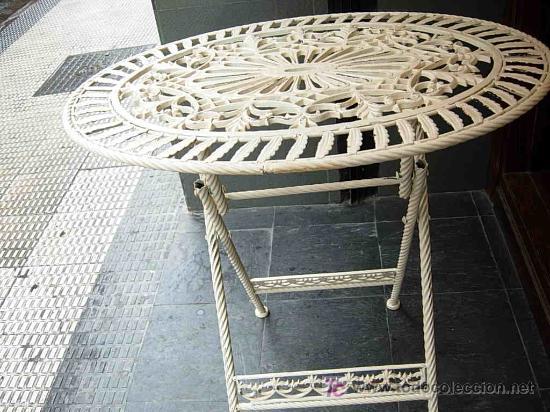 Mesa terraza segunda mano set de muebles mesa y sillas for Mesas y sillas de jardin segunda mano