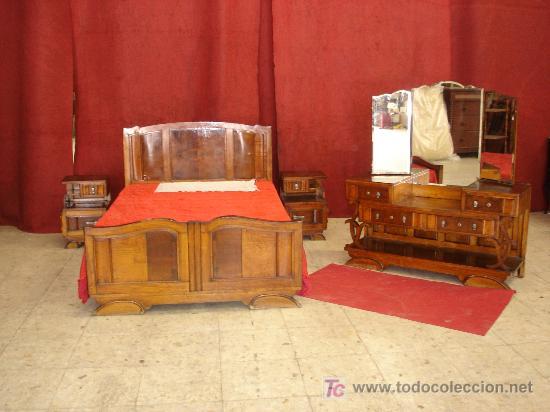 Dormitorio art deco comprar en todocoleccion 22117105 - Dormitorio segunda mano ...