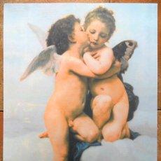 Segunda Mano: LÁMINA GRANDE ANGELES. QUERUBINES NIÑA Y NIÑO. Lote 27402604