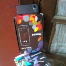 Segunda Mano: CAJA, FOLLETOS, Y ACCESORIOS DEL TELÉFONO TÁCTIL NOKIA 5800 XPRESS MUSIC -. Lote 24199109