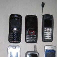 Segunda Mano: LOTE DE 7 TELEFONOS MOVILES. SONY.MOTOROLA.NOKIA.SIEMENS.. ENVIO CERTIFICADO GRATIS¡¡¡. Lote 27611776