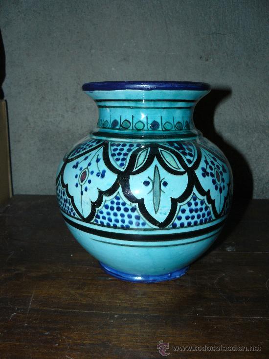 jarron de ceramica de origen marroqui comprar