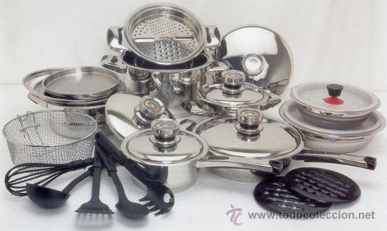 Bateria de cocina solingen 27 piezas maxima c comprar for Bateria cocina profesional