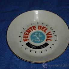Segunda Mano: PLATO DE FUENTE DEL VAL, MONDARIZ. Lote 27780222