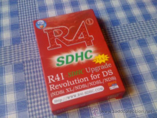 Tarjeta R4 SDHC Revolution para DS NDS Original, Lite, DSi y 3DS - Cartucho  juegos roms