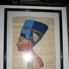 Segunda Mano: CUADRO PAPYRUS DE EGIPTO. Lote 28512521