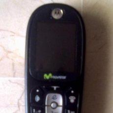 Segunda Mano: TELEFONO MOTOROLA CIA MOVISTAR CON CARGADOR. Lote 28603760