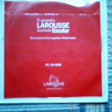Segunda Mano: EL PEQUEÑO LAROUSSE ILUSTRADO ESCOLAR (DICCIONARIO ENCICLOPEDICO MULTIMEDIA EN CD-ROM). Lote 29017765