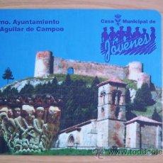 Segunda Mano: ALFOMBRILLA PARA RATÓN DE AGUILAR DE CAMPOO.. Lote 29332121