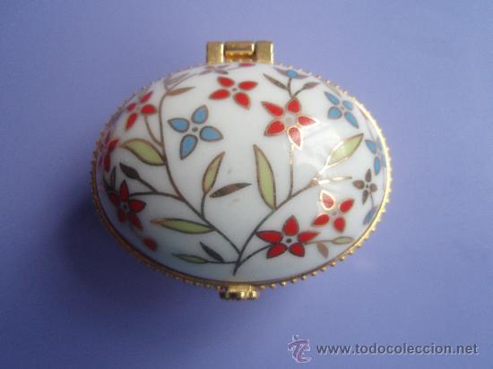Bonita Cajita De Porcelana Comprar Art Culos De Segunda