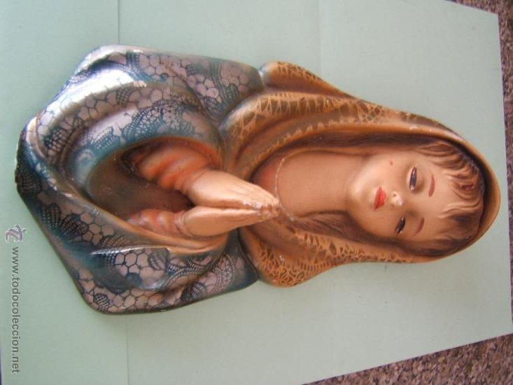 VIRGEN ESCAYOLA (Segunda Mano - Hogar y decoración)
