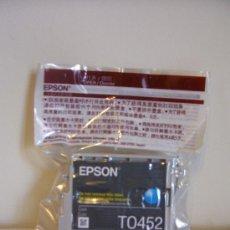 Segunda Mano: CARTUCHO TINTA ORIGINAL EPSON TO452 BLUE. Lote 30445652