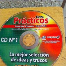 Segunda Mano: CDROM EXTRA PRÁCTICOS COMPUTING WEBMASTER DIGITAL MEDIA. Lote 30574601