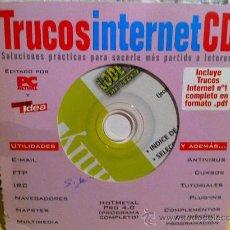 Segunda Mano: CDROM TRUCOS INTERNET. Lote 31300390