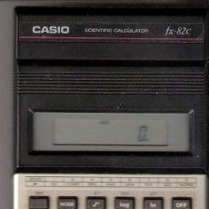 Segunda Mano: CASIO.SCIENTIFIC CALCULATOR. FX - 82 C. FUNCIONA. VER FOTOS. CALCULADORA CIENTÍFICA, SIN PILAS.. Lote 30787455