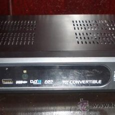 Segunda Mano: TDT CONVERTIBLE CON DISCO DURO DE 40GB. Lote 30777077