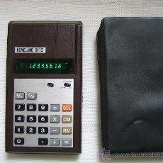 Segunda Mano: CALCULADORA. ELECTRONIC CALCULATOR HOMELAND 8112 MADE IN JAPAN. Lote 30920051
