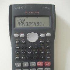 Segunda Mano: CALCULADORA CIENTIFICA CASIO FX-82MS. FUNCIONA PERFECTAMENTE.. Lote 30975154