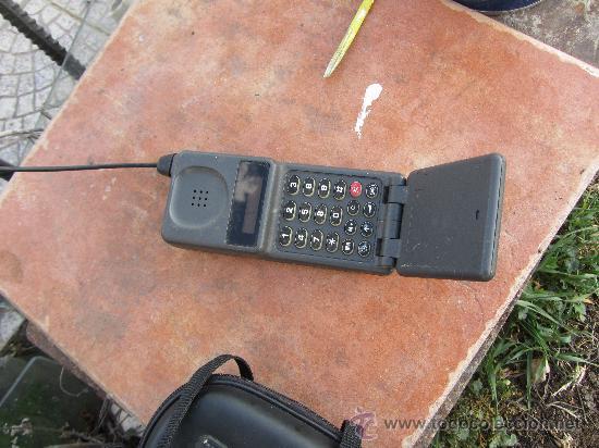 MUY ANTIGUO TELEFONO MOVIL PARA COLECCIONISTAS. (Segunda Mano - Artículos de electrónica)