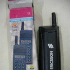 Segunda Mano: ANTIGUA CALCULADORA IMITACION TELEFONO MOVIL ERICSSON NUEVA EN SU CAJA. Lote 31590966