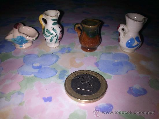 Lote De 4 Peque As Piezas De Ceramica A Os 60 Comprar