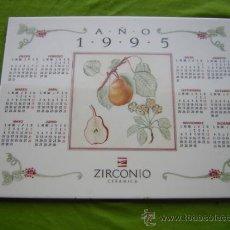 D'Occasion: AZULEJO DE CERAMICA CON CALENDARIO 1995. Lote 32217565