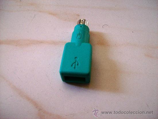ADAPTADOR PS2 A USB MACHO-HEMBRA segunda mano