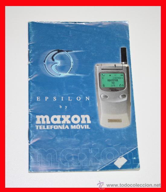 Segunda Mano: TELEFONO MOVIL MAXON EPSILON MOVISTAR , PARA PIEZAS INCLUYE BATERIA, CARGADOR, MANUAL Y MANOS LIBRES - Foto 3 - 33748821
