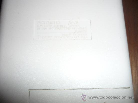 Segunda Mano: CALCULADORA CIENTIFICA DISPLAY VALVULA FLUORESCENTE CASIO FX-19 Y SANYO CX 8179L LITIO - Foto 5 - 33555699