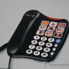 Segunda Mano: TELÉFONO DE SOBREMESA CON TECLAS GRANDES MARCACIÓN DIRECTA. Lote 66839417