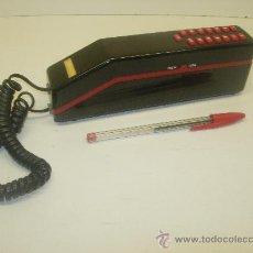Segunda Mano: BONITO TELÉFONO NEGRO Y ROJO RETRO VINTAGE MUY COMPACTO AÑOS 80?. Lote 34069193