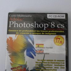 Segunda Mano: CURSO CD ROM MULTIMEDIA PHOTOSHOP CS 8 PARA PC. Lote 34713855