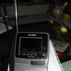 Segunda Mano: TELEVISOR DE MANO CASIO. Lote 35725506