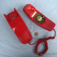 Segunda Mano: TELÉFONO MURAL GÓNDOLA EN COLOR ROJO. AÑOS 80.. Lote 152238161