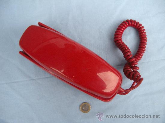 Segunda Mano: TELÉFONO MURAL GÓNDOLA EN COLOR ROJO. AÑOS 80. - Foto 2 - 152238161