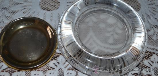 Segunda Mano: Platillo dorado dentro de una pieza de cristal . - Foto 2 - 36179432