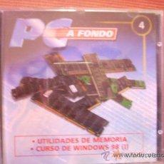 Segunda Mano: COLECCIÓN 'PC A FONDO', CD Nº 4. UTILIDADES DE MEMORIA + CURSO DE WINDOWS 98 (I).. Lote 36438287