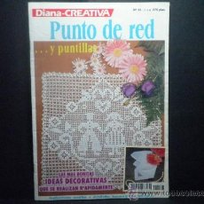 Segunda Mano: DIANA - CREATIVA PUNTO DE RED Y PUNTILLAS Nº 48. Lote 36546214