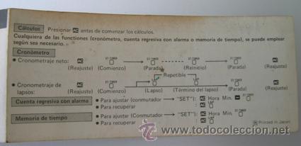 Segunda Mano: Calculadora CASIO UC-360 - Musical - Con funda y Pequeño Manual Instrucciones - Japan 80s - Vintage - Foto 9 - 36496918