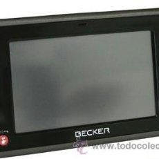 Segunda Mano: GPS NAVEGADOR BECKER TRAFFIC ASSIT MOD 7928. Lote 36607164