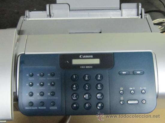 TELEFONO FAX - CANON 8820 - INCLUYE INSTRUCCIONES - PERFECTO ESTADO (Segunda Mano - Artículos de electrónica)